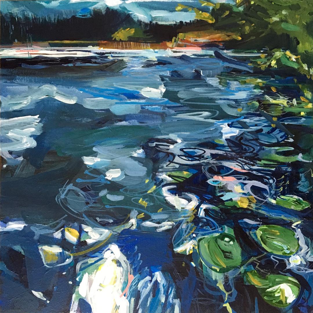 November Paddle at Lake McCarthy