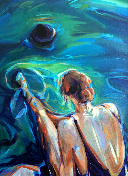 Tobermory Grotto Swimmer