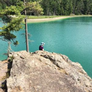 McGinnis Lake, Petroglyphs Provincial Par
